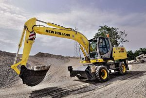 Диагностика и настройка гидросистем экскаватора New Holland