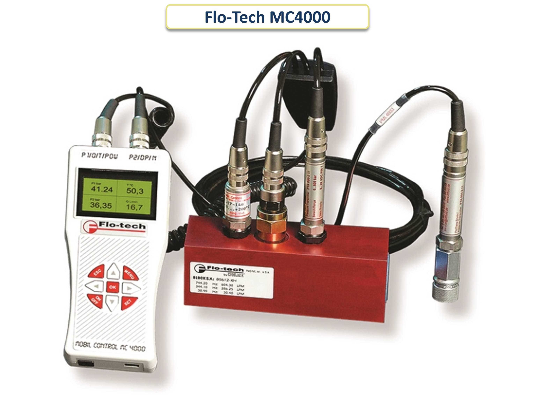 Портативный анализатор гидравлической системы Flo-Tech MC4000 - слайдер
