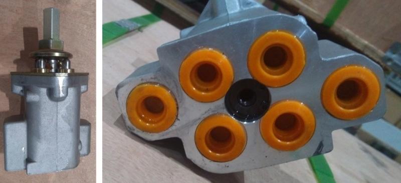 Клапан гидравлический пилотный джойстик (экскаватор Hitachi ZX330)