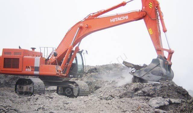 Экскаватор Hitachi ZX450LC-3