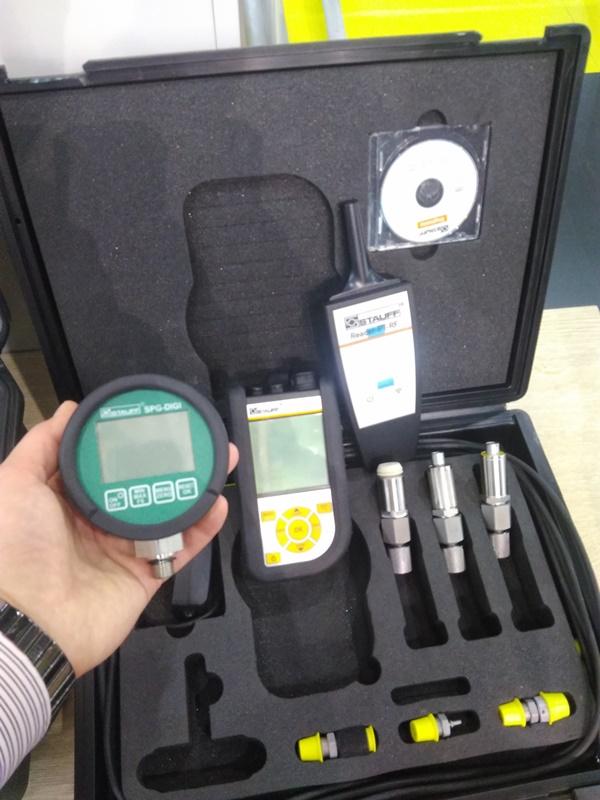 Диагностическое оборудование Stauff (цифровой манометр и PPC-04-plus)