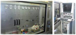 Стенд для испытания гидравлических клапанов
