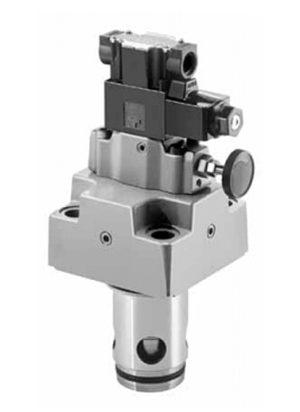 LBS Логические предохранительные клапаны с электрическим управлением Yuken
