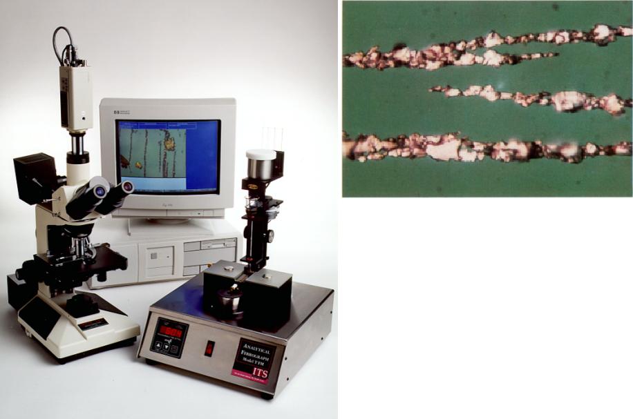 Микроскоп - феррография