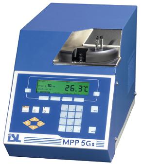 Машина для определения точки заливки и помутнения ISL MPP 5Gs - Точка застывания