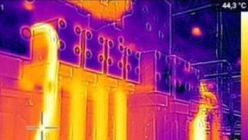 Тепловизионная съемка гидросистемы